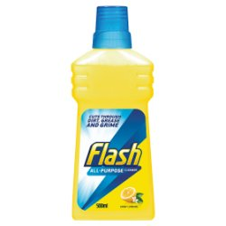 Flash Liquid Lemon Powerful Multi Surface Cleaner 500ml