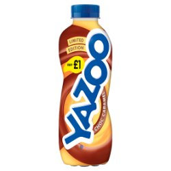 Yazoo Limited Edition Choc Caramel Milk Drink 400ml