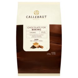 Callebaut Chocolate for Baking Chunks Dark 2.5kg