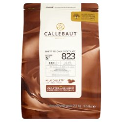 Callebaut Finest Belgian Chocolate Milk Callets 2.5kg