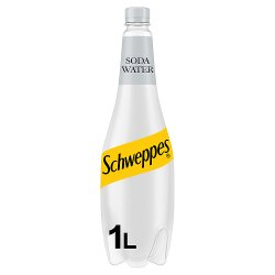 Schweppes Original Soda Water 1L