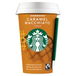 Starbucks Fairtrade Caramel Macchiato Flavour 220ml