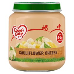 Cow & Gate Cauliflower Cheese Jar 125g