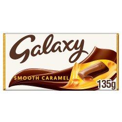 Galaxy Caramel Chocolate Bar 135g