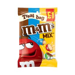 M & M's Mix Chocolate £1 PMP Treat Bag 80g
