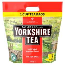 Taylors of Harrogate Yorkshire Tea 600 Tea Bags 1.5kg