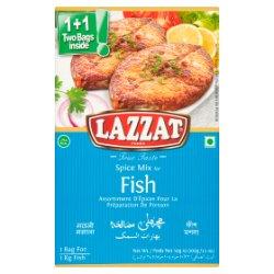 Lazzat Foods True Taste Spice Mix for Fish 2 x 50g (100g)