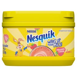 Nesquik® Strawberry Milkshake Powder 300g Tub