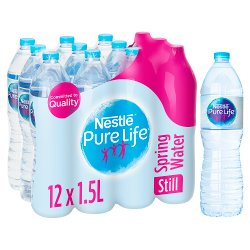 Nestlé Pure Life Spring Still Water 12 x 1.5L