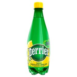 Perrier Lemon Sparkling Natural Mineral Water 50cl