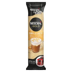 Nescafé &Go Vanilla Latte Coffee Sleeve of 8 Cups x 22.5g