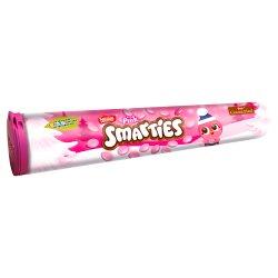 SMARTIES Pink Milk Chocolate Giant Tube 130g