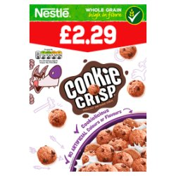 Nestlé Cookie Crisp Chocolatey Chip Cookie Cereal 375g