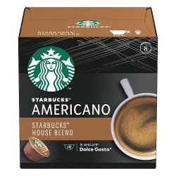 Starbucks by NESCAFÉ Dolce Gusto House Blend Medium Roast Coffee Pods 12 Pods Per Box