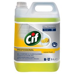 Cif Professional Business Solutions All Purpose Cleaner Lemon Fresh 5L
