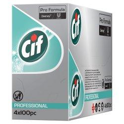 Cif Pro Formula Anti Bacterial Multi Purpose Wipes 4 x 100pcs