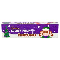 Cadbury Dairy Milk Buttons Chocolate Tube 72g