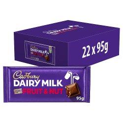 Cadbury Dairy Milk Fruit and Nut Chopped Chocolate Bar 95g