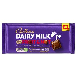 Cadburys Fruit And Nut PM £1