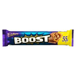 Cadbury Boost 55p Chocolate Bar 48.5g