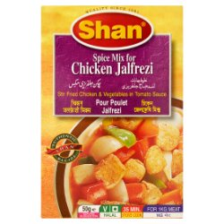 Shan Spice Mix for Chicken Jalfrezi 50g