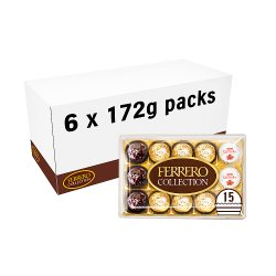 Ferrero Collection Gift Box of Chocolates 15 Pieces (172g)