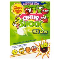 Chupa Chups 200 Center Shock Sour Mixed Flavours 800g