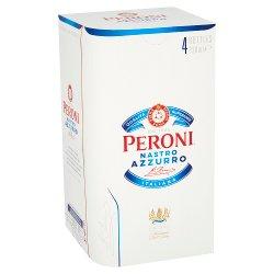 Peroni Nastro Azzurro 4 x 330ml