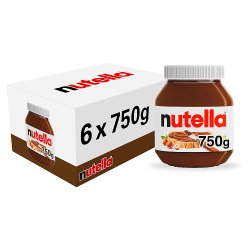 Nutella® Hazelnut Spread with Cocoa 750g