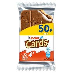 Kinder 2 Cards 25.6g