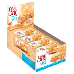 Fibre One 90 Calorie Peanut Butter High Fibre Popcorn Bars 12x21g