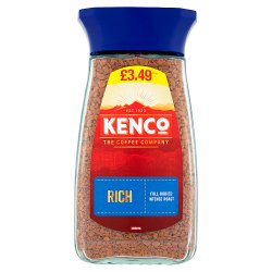 Kenco Rich Instant Coffee 100g £3.49 PMP