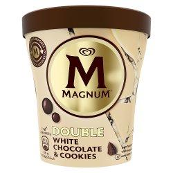 Magnum Tub White Chocolate & Cookies Ice Cream 440ml
