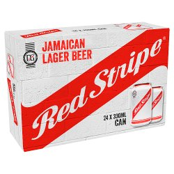 Red Stripe Jamaica Lager Beer 24 x 33cl