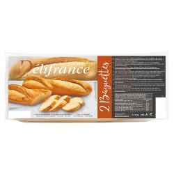 Délifrance 2 Baguettes Classique 250g