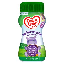 Cow & Gate 2 Follow-on Milk from 6-12 Months 200ml