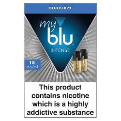 blu® myblu® Intense Liquidpod Blueberry 18mg/ml 2 x 1.5ml