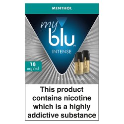 blu® myblu® Intense Liquidpod Menthol 18mg/ml 2 x 1.5ml