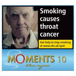 Moments Blue 10 Cigars