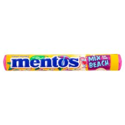 Mentos Mix on the Beach Roll 37.5g