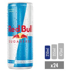 Red Bull Energy Drink, Sugar Free, 250ml