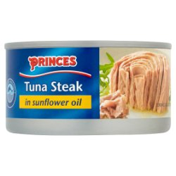 Princes Tuna Steak in Sunflower Oil 185g