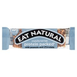 Eat Natural Protein Packed Peanuts and Chocolate 45g