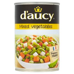 D'Aucy Mixed Vegetables 400g