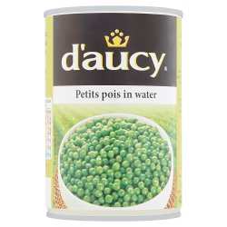 D'Aucy Petits Pois in Water 400g