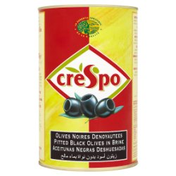 Crespo Pitted Black Olives in Brine 2.000g