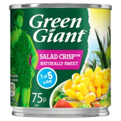 Green Giant Salad Crisp Sweetcorn 160g