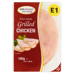 Delicatessen Fine Eating Grilled Chicken 100g