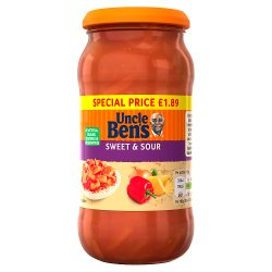 UNCLE BEN'S® Sweet & Sour 450g