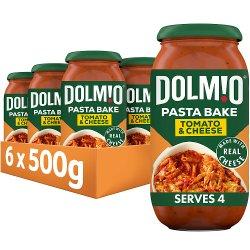 Dolmio Pasta Bake Tomato and Cheese Pasta Sauce 500g